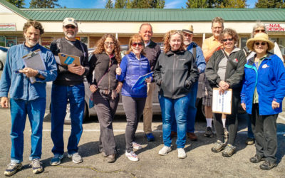 Indivisible Vashon Canvasses the 8th District